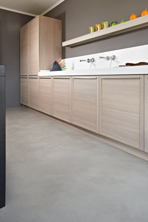 hypoallergenic kitchen microtopping floor