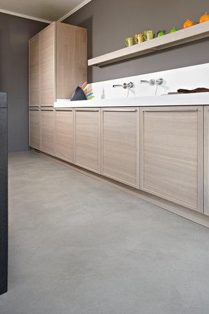 hypoallergenic kitchen béton ciré floor