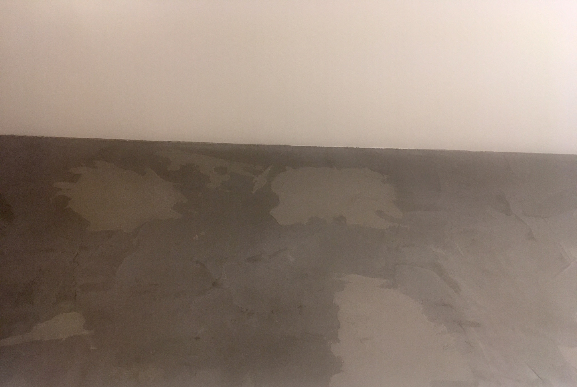 mistakes when applying microcement
