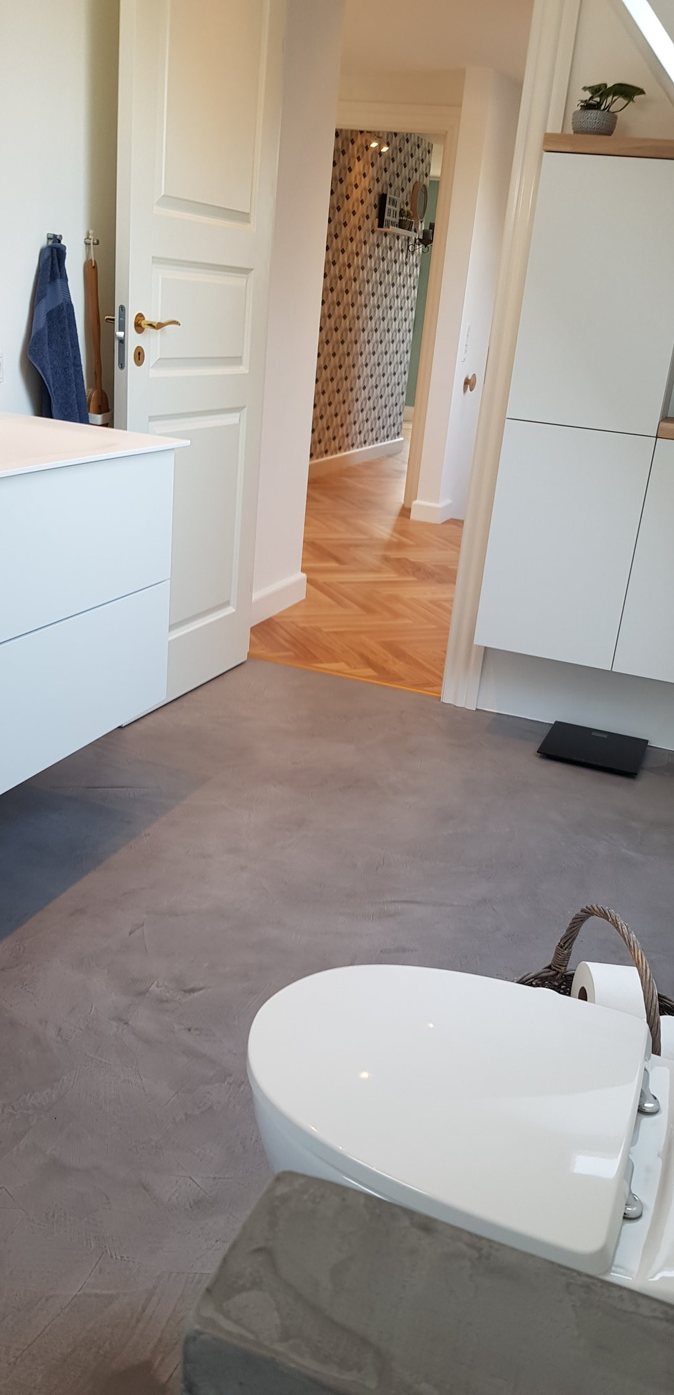 Scandinavian Style From Denmark Microcement Floor And