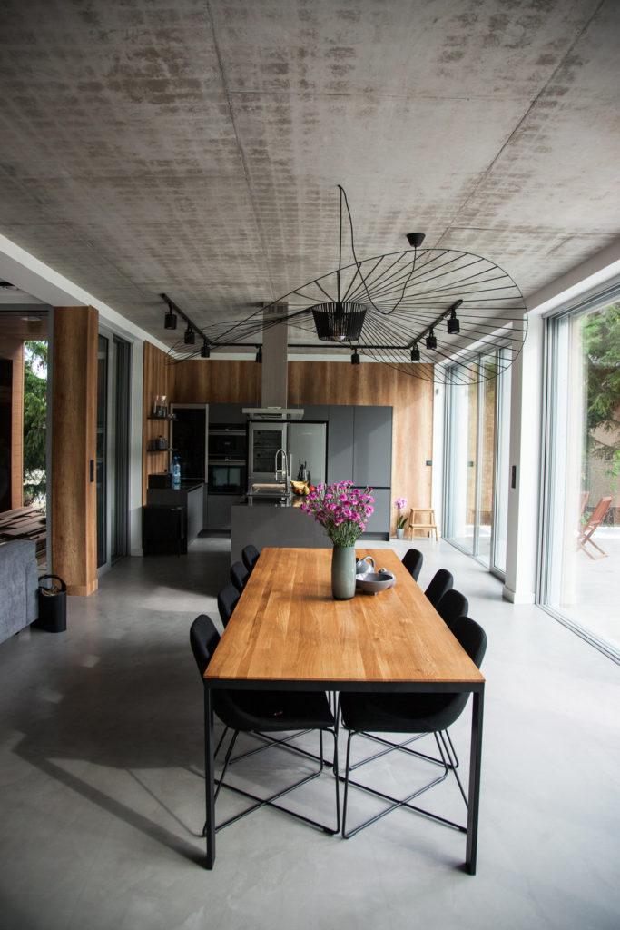 microcement floor - installer's photos
