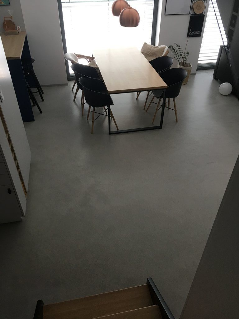 microconcrete floor