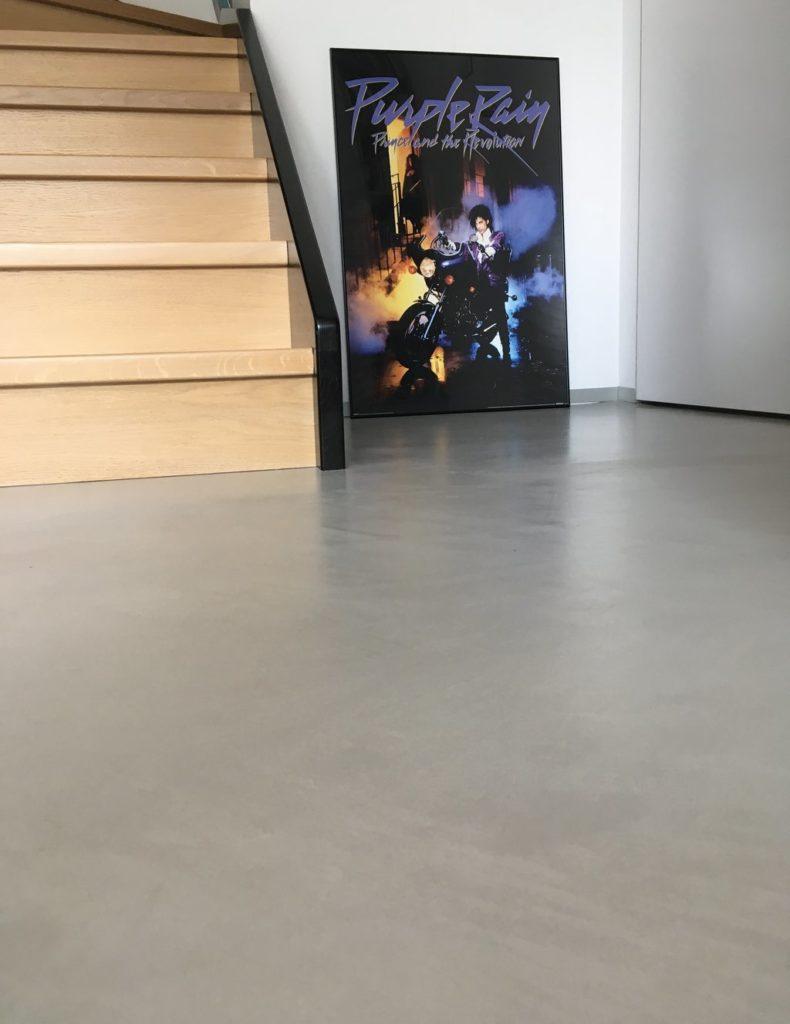 micro concrete floor