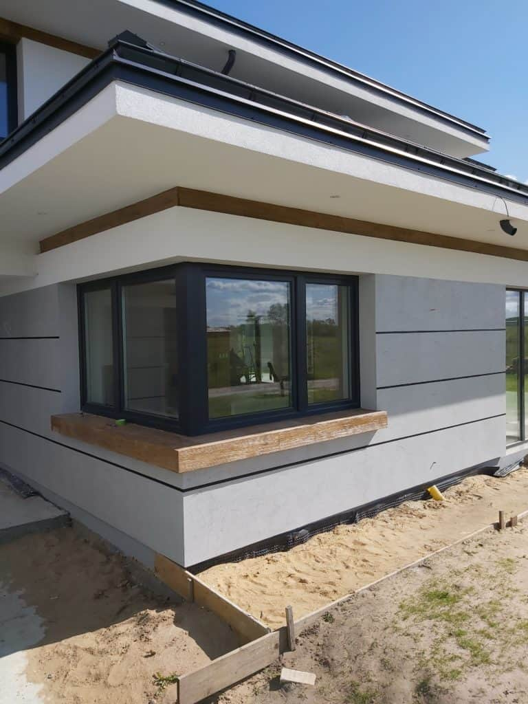 microcement wall