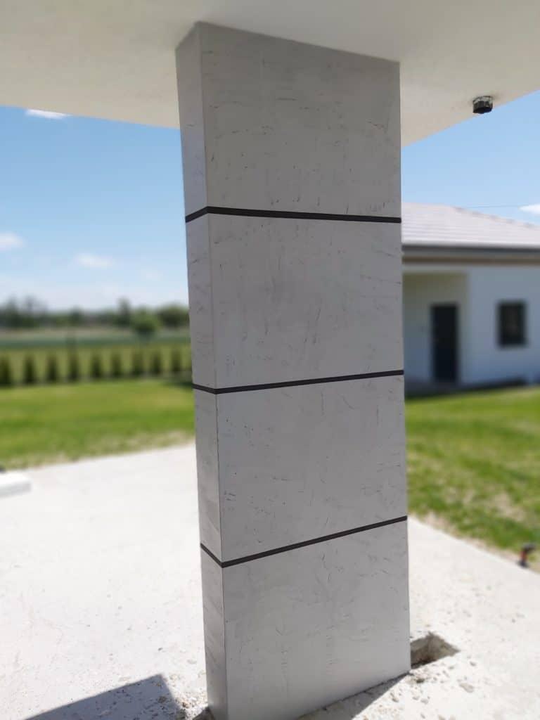 beton cire building elevations
