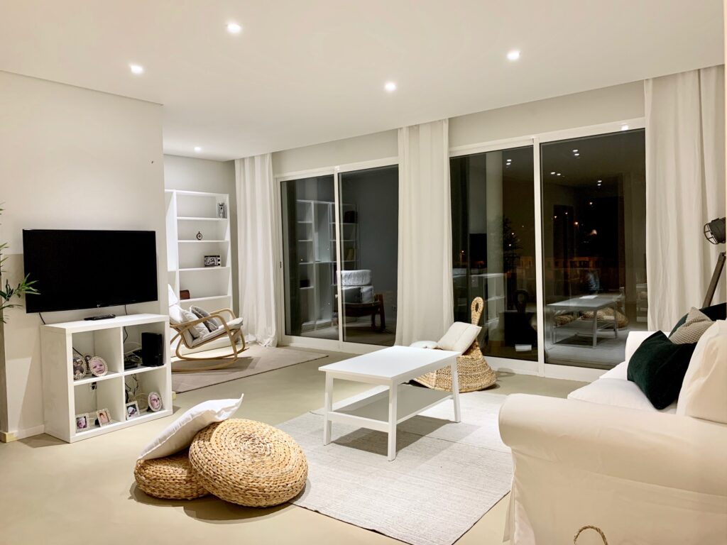 microcement floor madeira