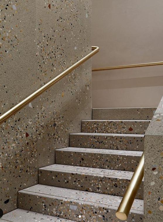 terrazzo staircase