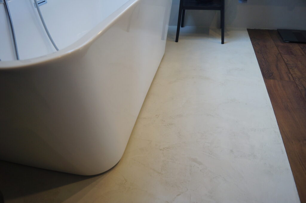 microcement floor diy