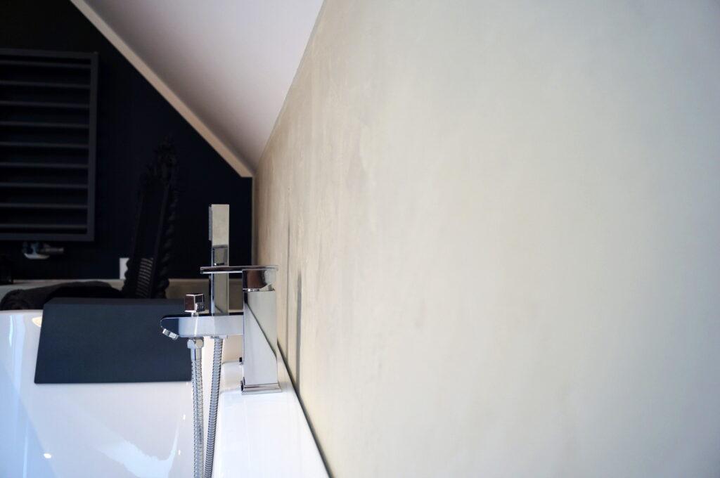 microcement bathroom wall diy