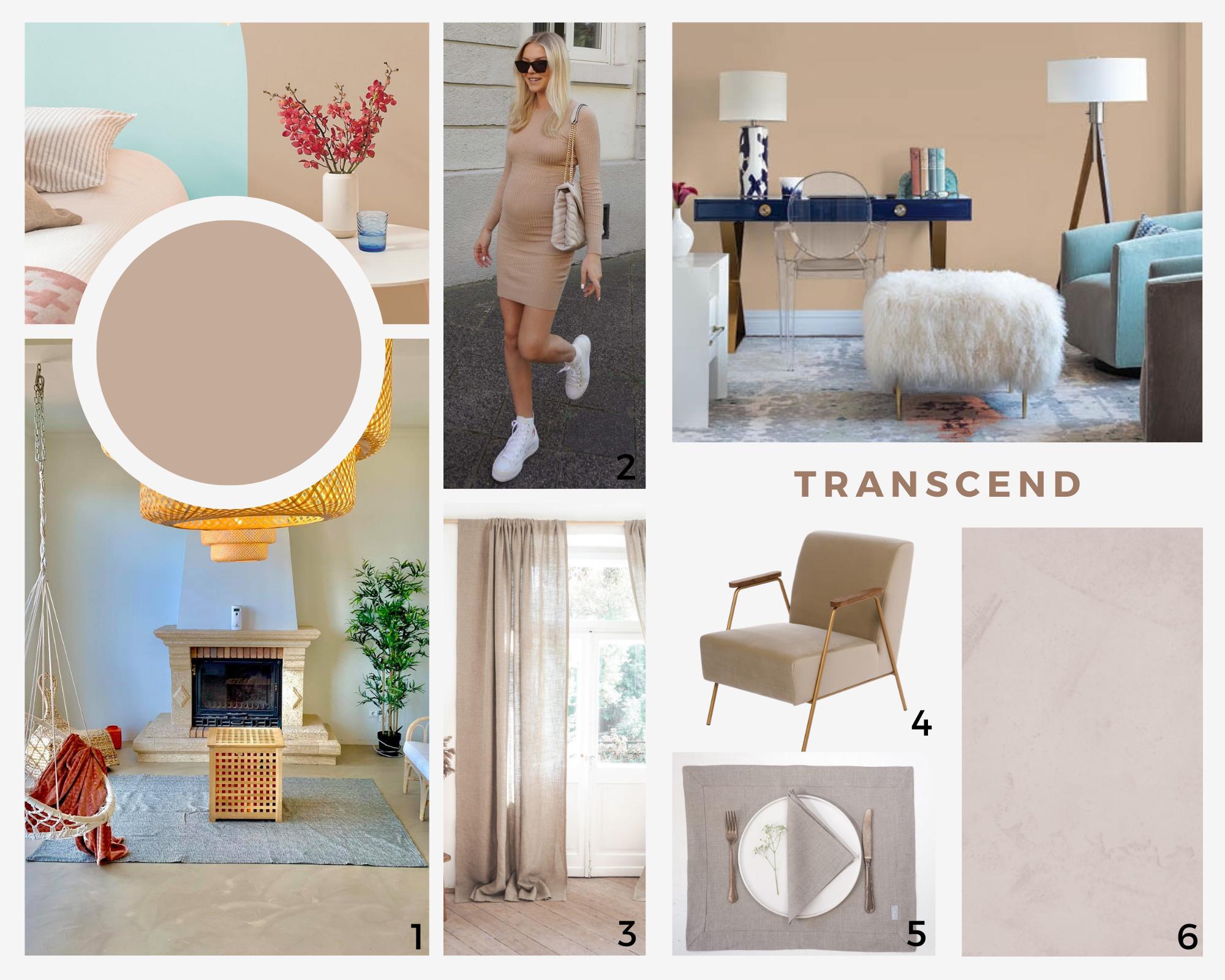 kolory roku 2021 - trendy - PPG - Transcend