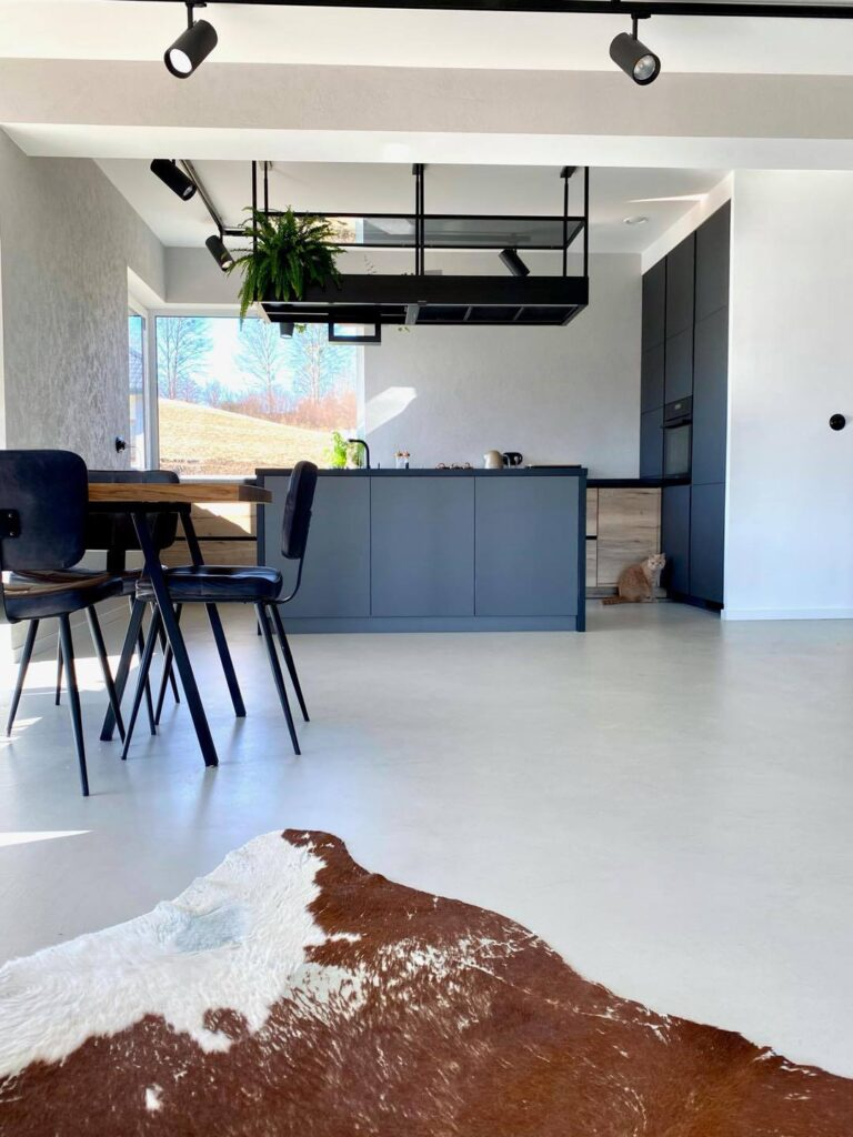 microcement flooring