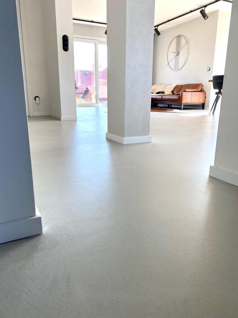 concrete floor at home