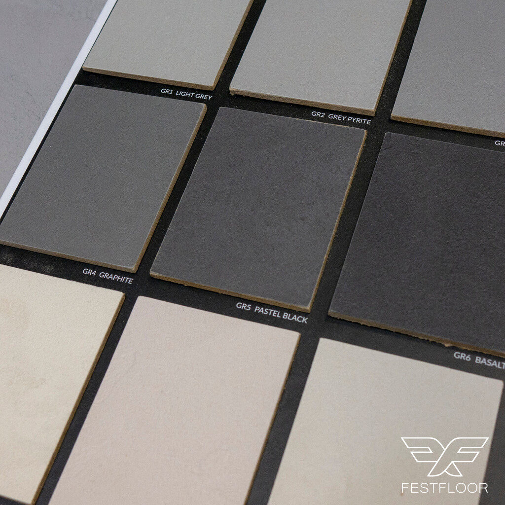 microcement color book